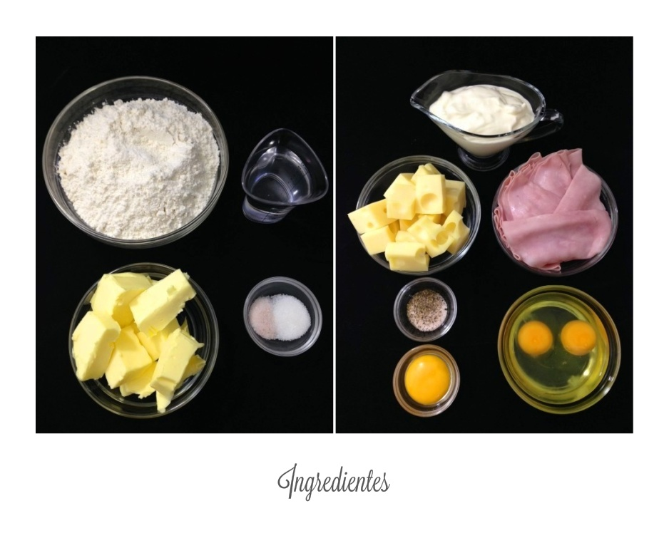 Ingredientes costrada