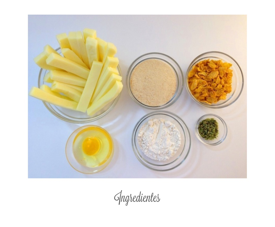 Ingredientes fingers de queso