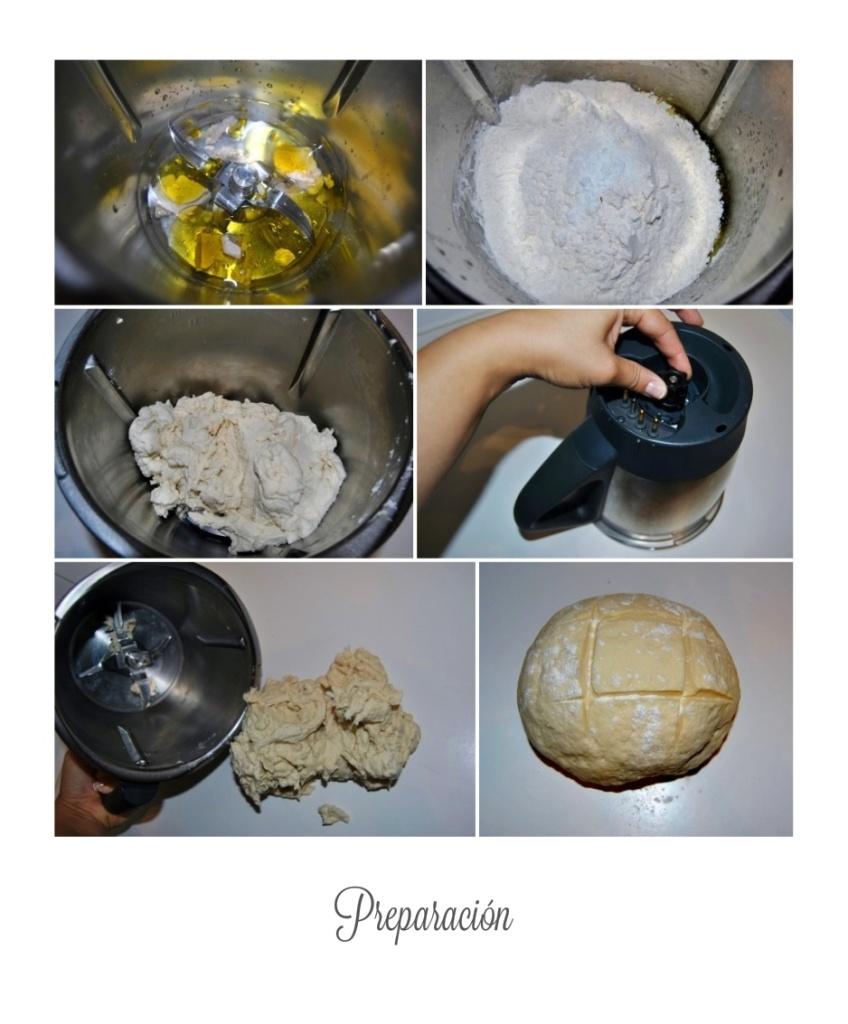 Preparacion del pan