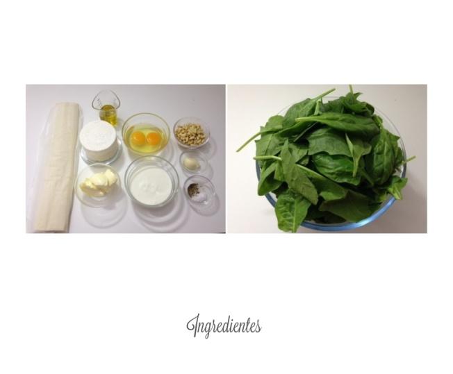 Ingredientes para blog
